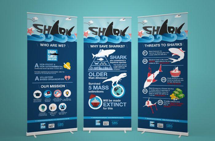 Shark Savers Malaysia Bunting 01